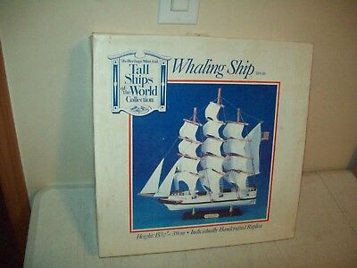Heritage Mint Tall Ships of the World Whaling Ship no. SH 06 NEW in the box