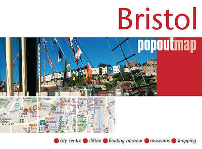 Bristol Popout Map by Compass Maps  - NEW