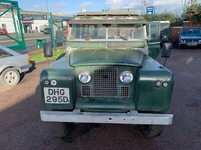 Land Rover series 2A LWB 109 Safari Petrol (galvanised chassis) ideal project