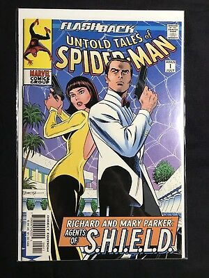 "Untold Tales Of Spider-Man Minus 1 ""Flashback"" Peter'S Parents Vf/nm"