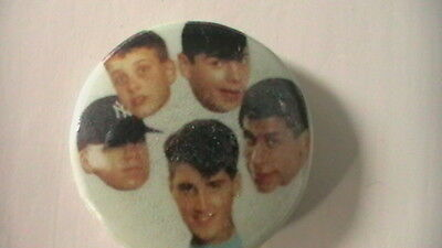 NEW KIDS ON THE BLOCK PIN ON BADGES FROM THE late  80s