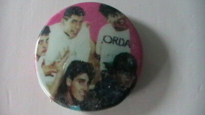 NEW KIDS ON THE BLOCK PIN ON BADGES FROM THE late80s