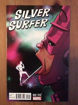 Silver Surfer 2 1:25 Zdarsky and Chums Variant Marvel ANAD 2016 NM Make An Offer