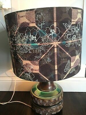 Vintage Ellis (Retro!) Pottery Lamp Sydney Northern Beaches