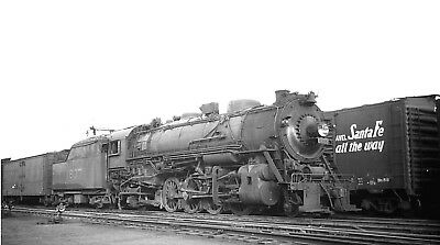 Louisville & Nashville Railroad # 1837, 2-8-2  steam loco Orig 616 B&W negative