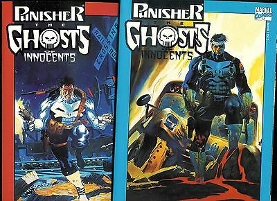 2 pc lot: Punisher Ghosts of Innocents #1 - 2 (Marvel) New UNREAD NM