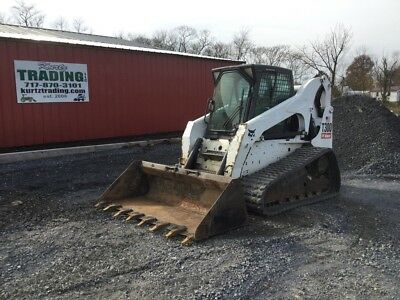 2010 Bobcat T300 Compact Track Skid Steer Loader w/ Cab & High Flow