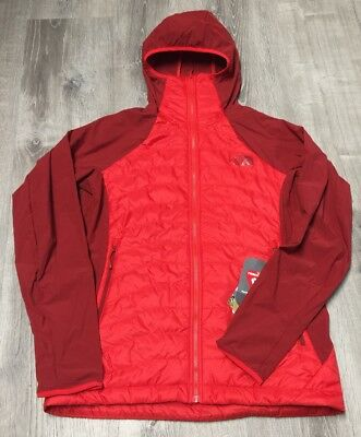 a313ac48cbae Womens Medium High Risk Red The North Face Verto Micro Down Jacket 199.99