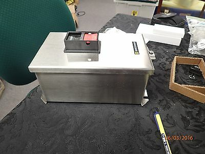 Square D 2510 MCW13 AC Manual Starter Stainless Steel Enclosure Size 1 (NIB)