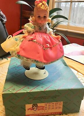 Vintage Madame Alexander Mary Mary Doll From The Story Book Series.#451 W/box.