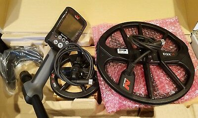 """Minelab Equinox 800 with 6"""" and 11"""" inch coil."""