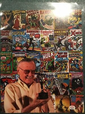 Stan Lee Signed Autographed 8X10 Certified Paasaa.com