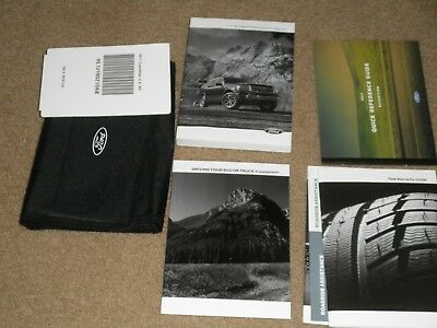 2017  Ford Expedition User Guide Owners Manual With Storage Pouch
