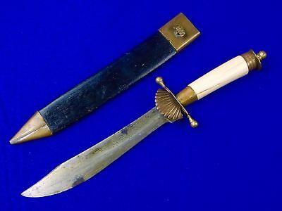 Antique Vintage Old 1922 Dated Indonesian Indonesia Hunting Knife