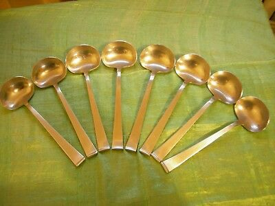 """Supreme Cutlery Stainless TOWLE 18/8 Japan Mid Century Modern Table Spoon 6 7/8"""""""