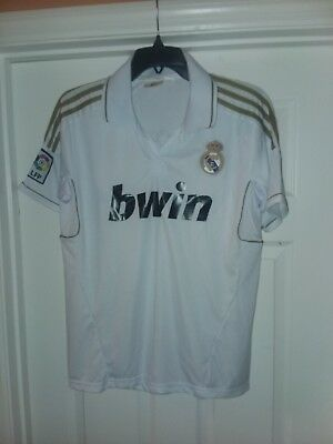 huge discount 81518 752d5 MENS REAL MADRID Shirt Ronaldo bwin #7 Soccer Jersey Size Large L