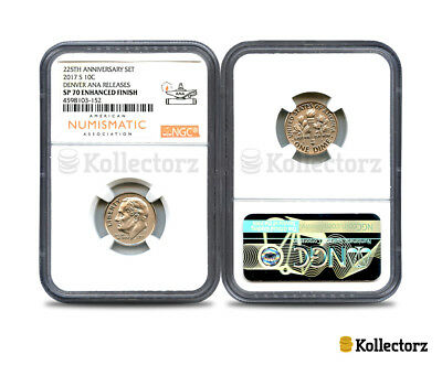2017 S 225Th Anniversary 10C Denver Ana Releases Ngc Sp70 Enhanced Finish