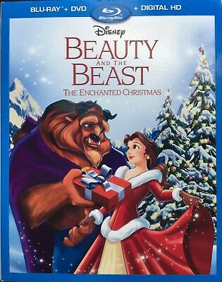 Beauty & the Beast Enchanted Christmas (Bluray or DVD)Never Played Still Wrapped