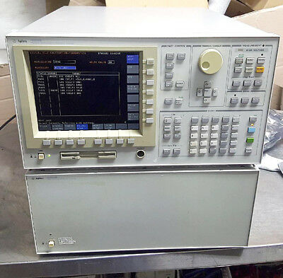 Agilent 4156B Semiconductor Parameter Analyzer, 41501B Pulse Generator [#A4]