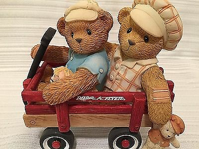 CT Booker and Fletcher Radio Flyer Figurine # 786861 Together Wherever We Go