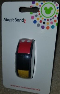 New Disney Parks I Am Mickey Body Parts Magic Band 2 Link It Later