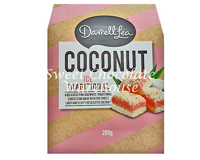 Darrell Lea Coconut Ice Traditional 280g