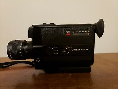 Canon 514XL SUPER 8 Movie Camera