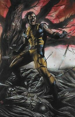 Marvel Return of Wolverine #1 Variant Cover B by Adi Granov Ltd to 1000