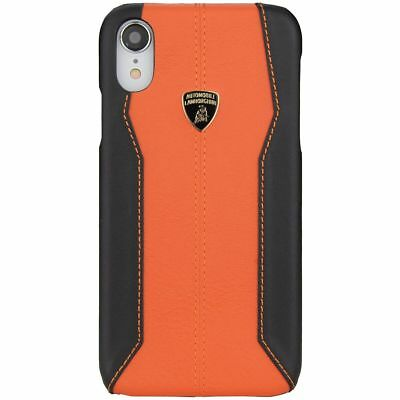 Lamborghini Huracan-D1 Leather Back Cover Case for iPhone XR