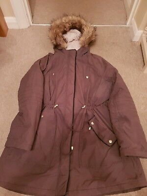 Ladies Maternity Coat Size 18