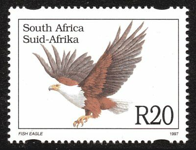 South Africa 1997 R20 Fish Eagle Mint Unhinged