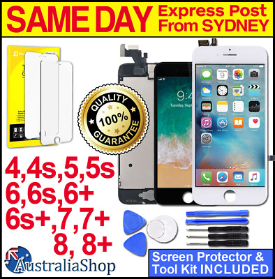 iPhone 6 Plus 6S 8 7 5 S LCD Touch Screen Replacement Digitizer Display Assembly