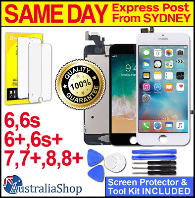 iPhone 7 Plus 8 6 6S 5 S LCD Touch Screen Replacement Digitizer Display Assembly