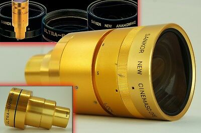 GOLD, Sankor New Cinemascope Type 5-e Integrated Anamorphic Lens 1 ps, Readmy!