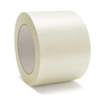 "Filament Strapping Tape 4 Mil 3"" x 60 Yds Reinforced Packing Tapes 80 Rolls"