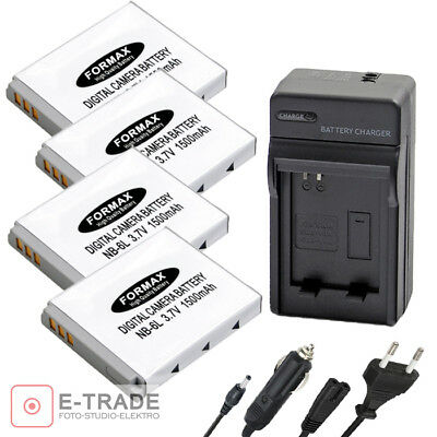 NB-6L NB6L Battery-Charger For Canon IXUS 85 95 IS SD770 PowerShot D10 S90 EG