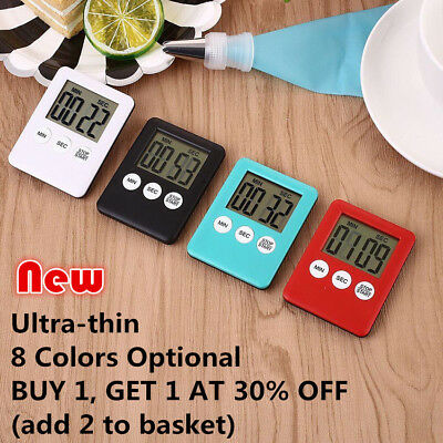 Magnetic Kitchen Timer Stopwatch Egg Timer Alarm Cooking Timer Countdown Clock Z