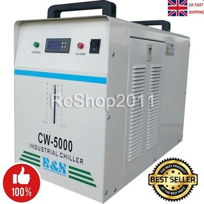 60Hz CW-5000  Industrial Water Chiller for One 80W/100W CO2 Glass Laser