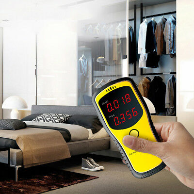 Digital Formaldehyde Detector HCHO TVOC Meter Home Car Air Quality Tester I9G7F