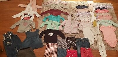 HUGE Baby Girls Clothes Bundle 12-18 months Autumn/Winter/Christmas Collection