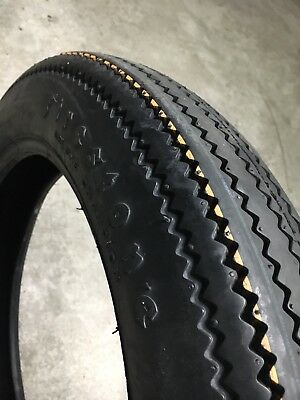 Firestone Deluxe Champion Motorcycle Tyre Set.
