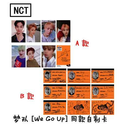 Kpop NCT Dream We Go Up Album Paper Photo Cards Autograph Photocard 7pcs/set