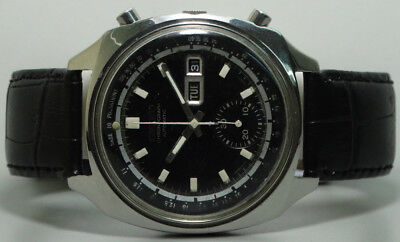 Vintage Seiko Chronograph Automatic Day Date Mens Watch Old Used s980 Antique