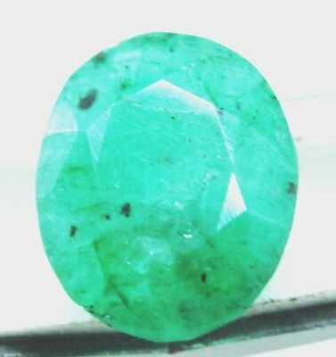 6.20Ct Natural Oval Cut Vivid Green Emerald Panna Gem Ggl Certified Mother'sDay