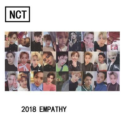 Kpop NCT U 127 2018 Empathy Paper Cards Self Made Autograph Photocard Poster 1pc