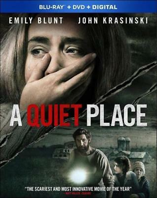 """A QUITE PLACE (BLU-RAY + DVD + DIGITAL) NEW 2019 w/Slipcover -""""Not a Rental"""" USA"""