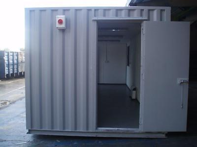 20ft x 8ft storage Container office - manchester