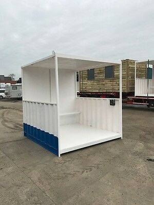 10ft x 8ft Smoking Shelter Storage Container - Birmingham
