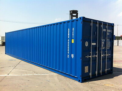 40ft x 8ft - 1 way/1 Trip  Storage Container - Liverpool