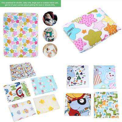 Baby Infant Diaper Pad Nappy Urine Mat Kid Waterproof Bedding Changing Cover